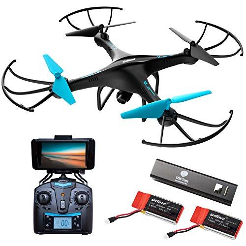 "Force1 Drone with Camera Live Video - ""U45WA"" WiFi FPV Drone w/ HD..."