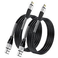 【Blitzschutzkabel】: Jedes Kabel enthält einen von iPhone zugelassenen Chip, um eine 100% ige Kompatibilität mit iPhone, iPad und iPod zu gewährleisten. Eingebautes iphone Original C48 Terminal und Smart Chip. Mit Lightning-Anschluss, um sicherzustell...