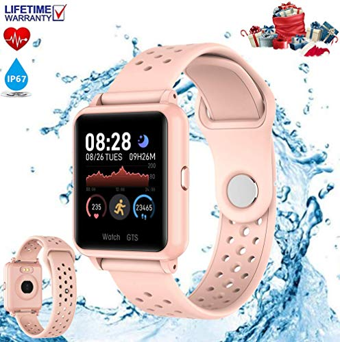 【2020 Nuevo】Pulsera Deportiva Bluetooth,Reloj Inteligente, Smartwatch, Reloj Deportivo para Android y…