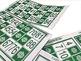 600 Cartones para Bingo Tradicional De 90 Bolas
