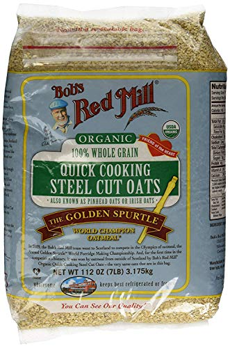 Bob's Red Mill Quick Cooking 100% Whole Grain Oats, 112 Ounce - 4 Pack