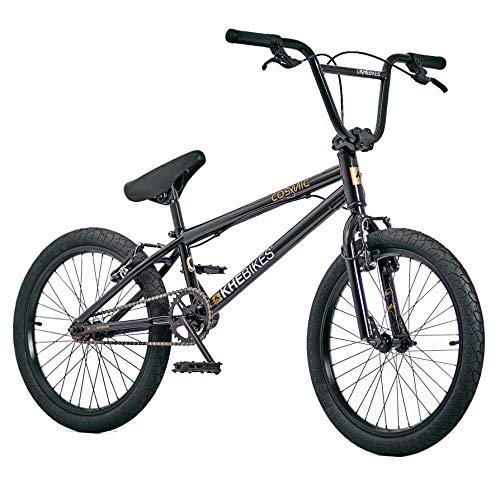 KHEbikes BMX Cosmic Bicicletta da 20 pollici con rotore Affix, solo 11,1 kg , Nero