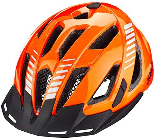 Abus Unisex– Erwachsene URBAN-I 3.0 Fahrradhelm, Signal orange, L