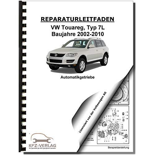VW Touareg, Typ 7L (02-10) 6 Gang Automatikgetriebe 09D - Reparaturanleitung