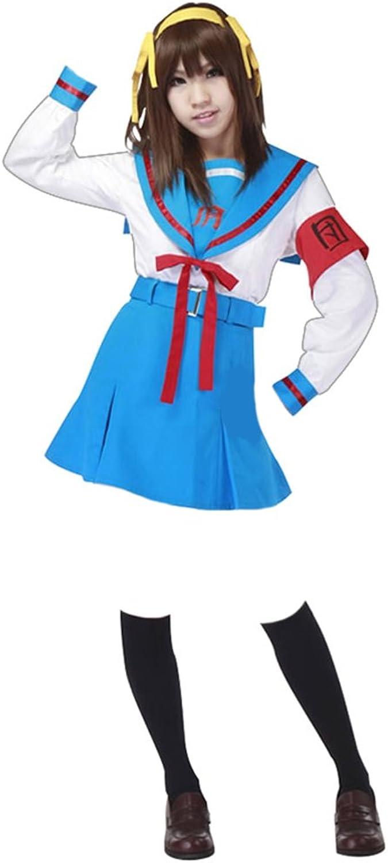 venta caliente en línea Dream2Reality Disfraz de de de colegial Suzumiya Para CosJugar para hombre, talla S  nuevo estilo