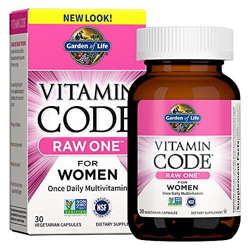 Garden Of Life Vitamin Codice Raw Una Volta Al Giorno Multivitaminico Per Le Donne 30 Capsule - 600 g