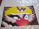 WARIO 11' By 17' Limited Edition Print Signed By Chris Huffman