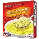 Lipton Soup Secrets Instant Soup Mix, Ring-O-Noodle 4.9 oz, Pack of 12