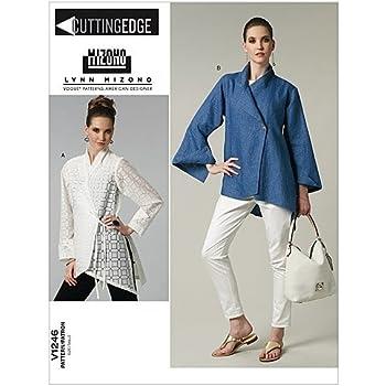 Vogue Patterns V1246 - Patrones de Costura para Camisas de Mujer (Talla FF: 46-52): Amazon.es: Hogar