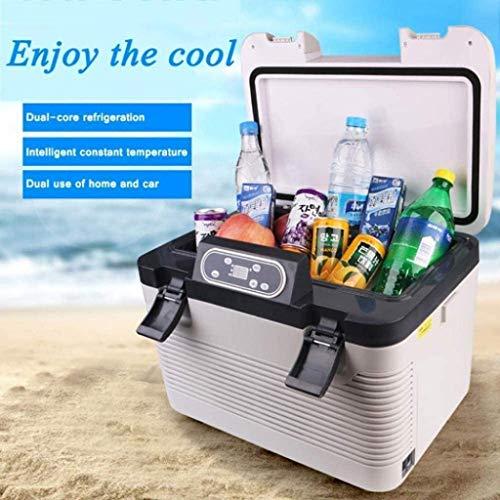 ZFFSC Refrigerador de Coche Caja de Enfriador termoeléctrica de 19L 12V 230V 24V KIIHLBOX Frigorífico de refrigerador portátil para automóvil para Camiones para automóviles y Refrigerador de Coche