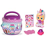 Cry Babies Magic Tears Paci House - Mini Collectable Glittery Dolls - Assorted Surprise Model