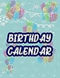 Birthday Calendar: birthday calendar 2020!!! You Can Use This To