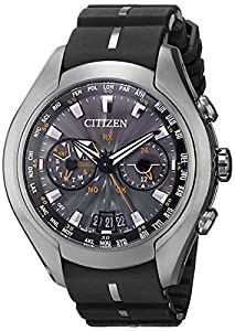 Citizen Men's CC1076-02E Satellite Wave Air Eco-Drive Polyurethane Strap Watch