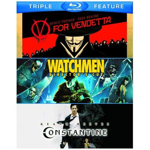 Watchmen Director's Cut/ V for Vendetta/ Constantine -Triple Pack