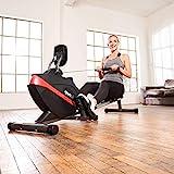 SportPlus Rudergerät für zu Hause, Klappbar, Leises Magnetbremssystem, Kugelgelagerter Rudersitz, Brustgurtkompatibel, Trainingscomputer, Nutzergewicht bis 150 kg, Sicherheit geprüft - 2