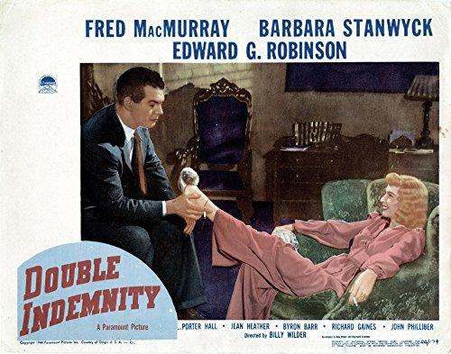 Posterazzi Double Indemnity Movie Masterprint Poster Print, (28 x 22)