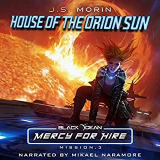 Page de couverture de House of the Orion Sun: Mission 3