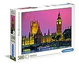 Clementoni - Puzzle de 500 Piezas,, diseño Londres (303786)