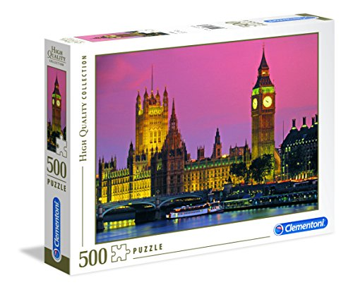 Clementoni- London High Quality Collection Puzzle, Multicolore, 500 pezzi, 30378