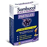 SAMBUCOL Pastilles Black Elderberry, 20 CT