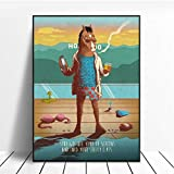 NOVELOVE Bojack Horseman Cartoon TV Series Poster HD Impresiones Pared del Arte Fotos Lienzo de Pintura Bar Mural Decoracin para el hogar sin Marco 42 * 60cm