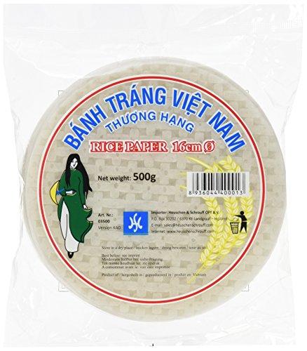 HS Vietnamesisches Reispapier 16cm 500g (1 x 500 g)