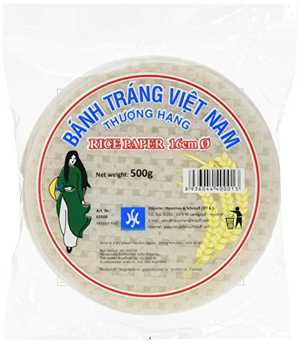 HS Vietnamesisches Reispapier 16cm 500g, 8er Pack (8 x 500 g)