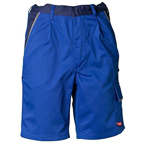 Planam Shorts Highline, größe L, kornblau / marine / zink, 2370052