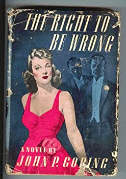 Hardcover The Right to be Wrong Book