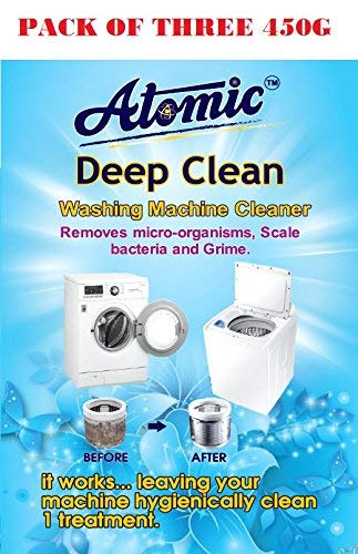 Best washing machine cleaning powder