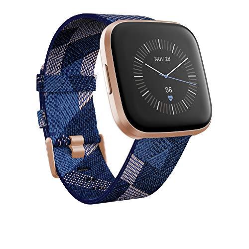 Fitbit Versa 2 ❤ Smartwatch deportivo ❤ Correa Textil ❤ Alexa