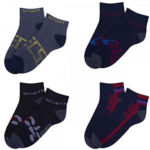 Danko field elephant Lot de 4 paires de chaussettes de badminton