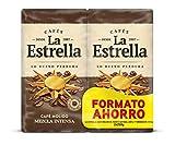 La Estrella Café Tostado Molido Mezcla Intenso 2X250G