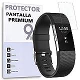 REY Protector de Pantalla para Fitbit Charge 2
