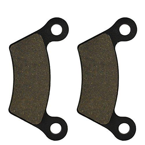 AHL 1 Paar Hinten Bremsbeläge für CAN-AM Spyder SM5 GS990 (3 wheeler) 2008-2011 / CAN-AM Spyder SE5 GS990 2008-2011