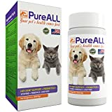 All-in-One Dog & Cat Probiotics, Hip Joint Pain Relief Formula, Vitamins, Digestive Enzymes, Antioxidants, Minerals, Glucosamine, MSM, Chondroitin, 100 Servings, 37+ Years Reputation - SIMIEN PureAll