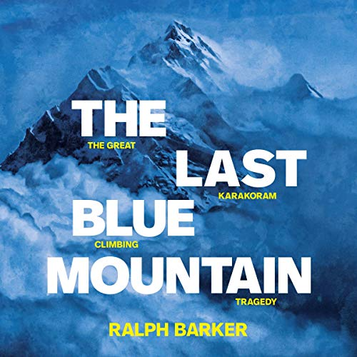 The Last Blue Mountain cover art