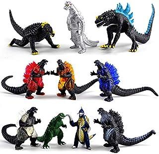 10Pcs/set Movie Godzilla Action Figure toy Collect Toy 8cm