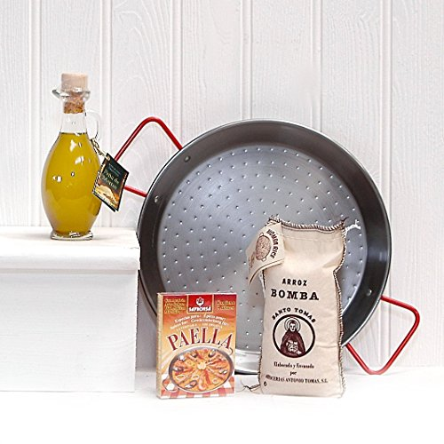 Traditional Spanish Paella Gift Set Food Hamper - Gift Ideas for Mum, Valentines, Mother's Day, Birthday, Congratulations, Business and Corporate Presents, Dad, Fathers Day, him, her