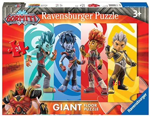 Ravensburger- Gormiti A Puzzle da Pavimento, Multicolore, 03009