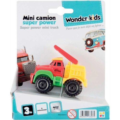 WDK PARTNER - A1300051 - Véhicules miniatures - Mini camion métal - Modèle aléatoire