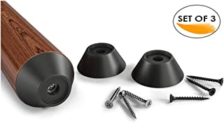 Noa Store 3 Pool Cue Stick Rubber Bumpers 1 inch Comes w/Screws Included