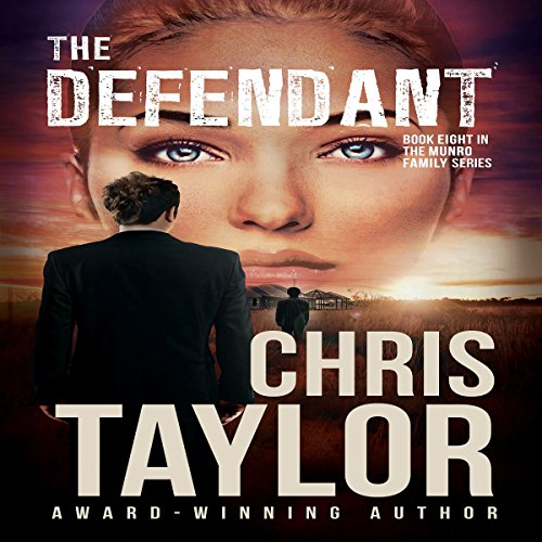 The Defendant     The Munro Family, Book 8              By:                                                                                                                                 Chris Taylor                               Narrated by:                                                                                                                                 Aiden Snow                      Length: 9 hrs and 7 mins     10 ratings     Overall 4.7