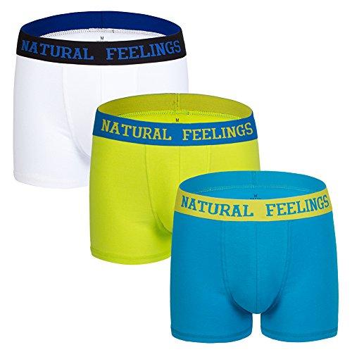 Natural Feelings Calzoncillos Boxer Ropa Interior Hombre Box
