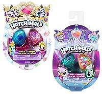 UN ACCESSORIO in OGNI UOVO: Ogni uovo Royal contiene un CollEGGtibles e un accessorio da scoprire. Puoi anche scambiare gli accessori tra tutti i tuoi nuovi amici TRONO REALE da GIOCO o da ESPOSIZIONE: posiziona i tuoi Hatchimals CollEGGtibles sul lo...