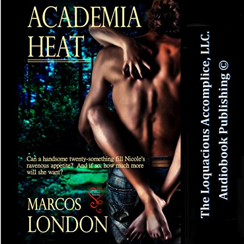 Academia Heat audiobook cover art