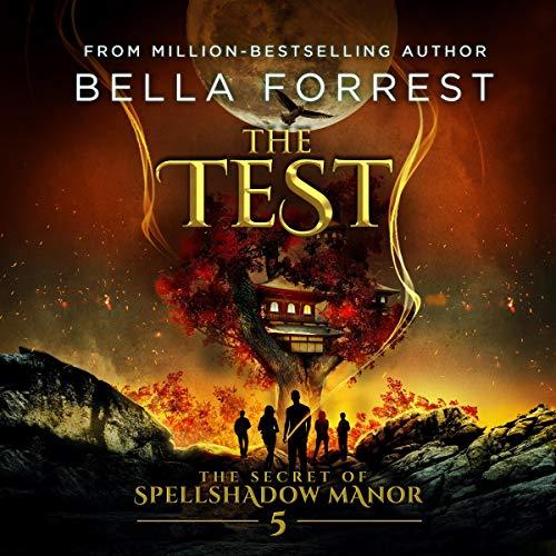 The Secret of Spellshadow Manor 5: The Test audiobook cover art