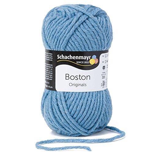 Schachenmayr Boston 9807412-00155 taubenblau Handstrickgarn