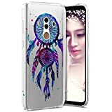 Coque Huawei Mate 10 Pro,Huawei Mate 10 Pro Coque Paillette Strass Silicone Housse Etui,Surakey Souple Housse Étui Protection TPU Bumper Silicone Gel pour Huawei Mate 10 Pro Attrape Rêves