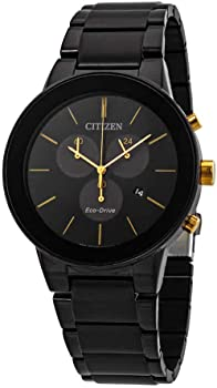 Citizen Axiom Black Dial Men's Watch